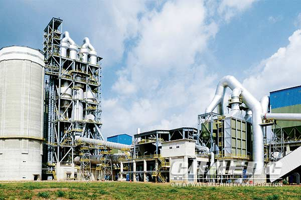 Линия по производству цемента в Узбекистане